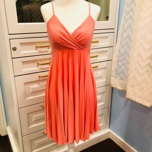 Max & Cleo Peachy Pink Cocktail Dress